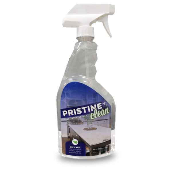 pristine clean non-hazardous countertop cleaner