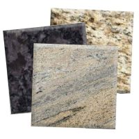 granite countertop material samples