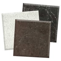 quartz countertop material swatches